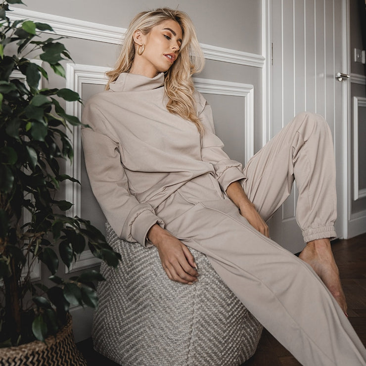 Chill Day Two-Piece Pants Set