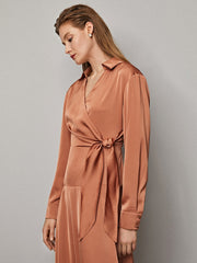 Dance Floor Wrap Dress