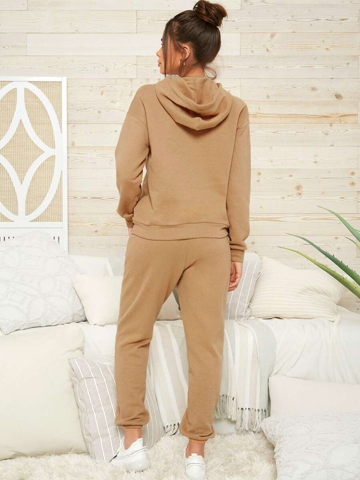 Cozy Feeling Two-Piece Jogger Pant Set