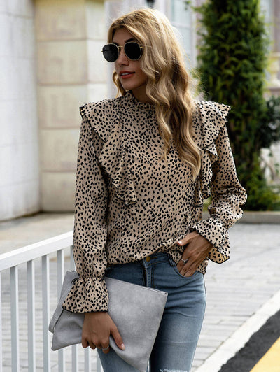 Good Day Leopard Top