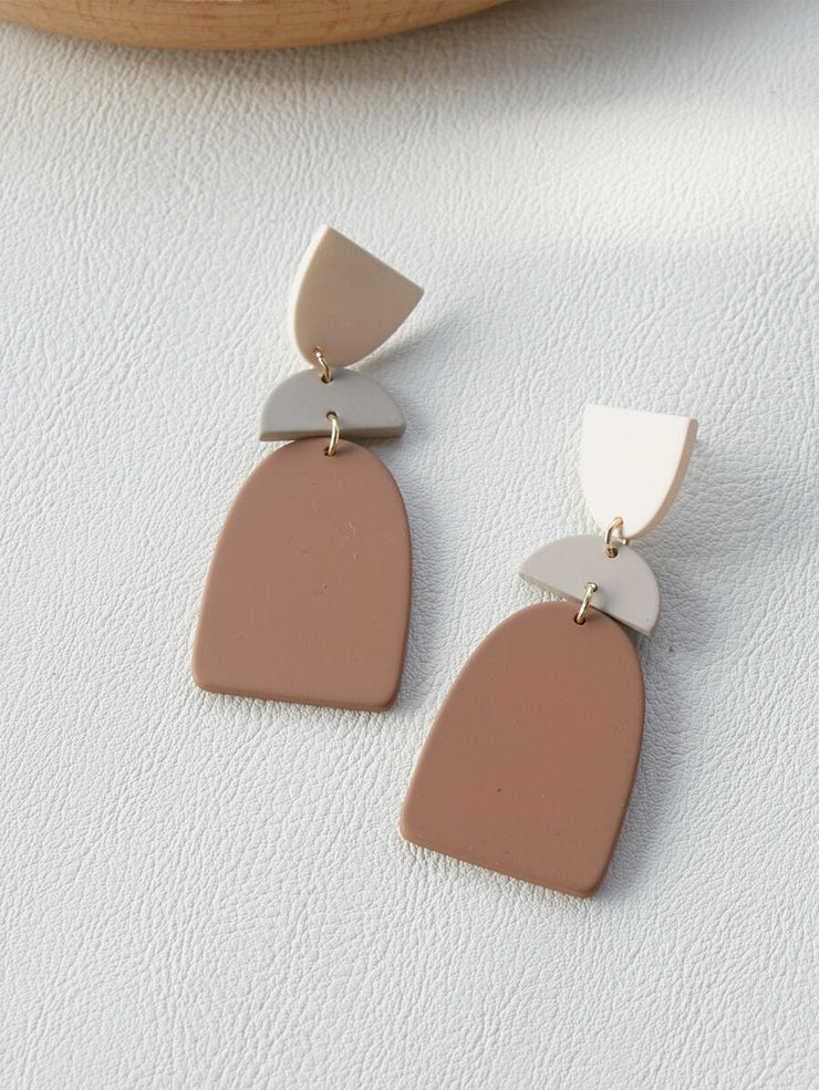 Down to Earth Drop Earrings