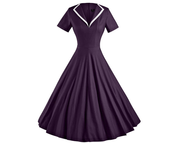 The 50's Retro Midi Dress