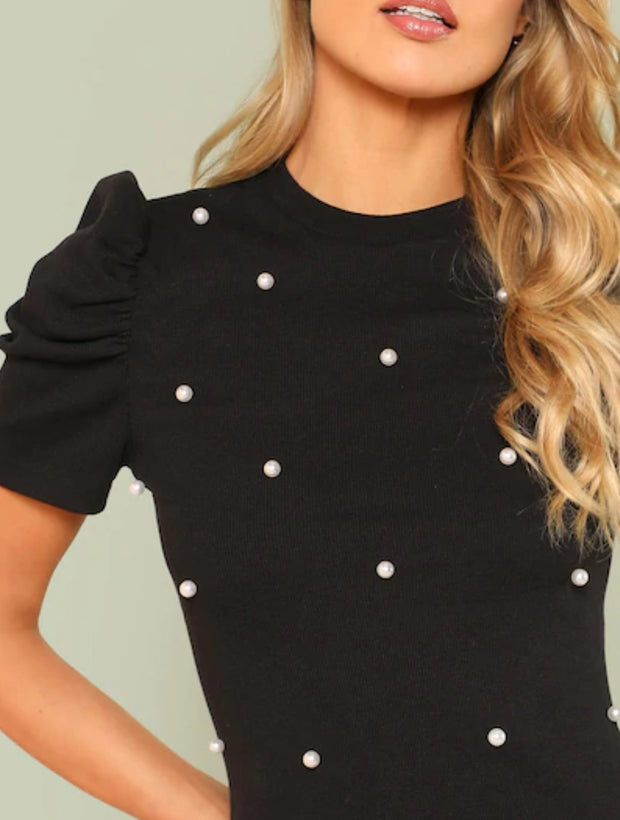 Classy Pearly Top