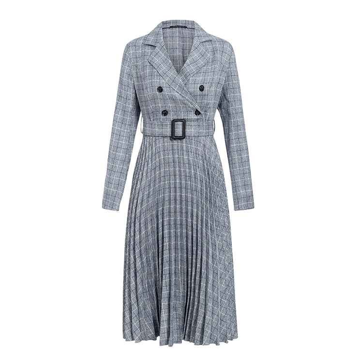 PREORDER Sweetest Heart Plaid Midi Dress