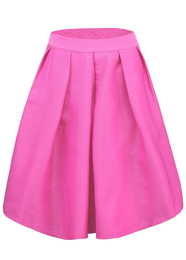 Super Classy Pleated Midi Skirt