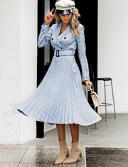 Sweetest Heart Plaid Midi Dress