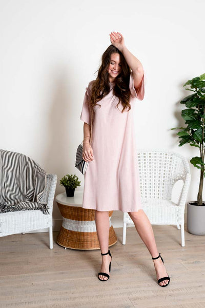 Time Out Knit Midi Dress