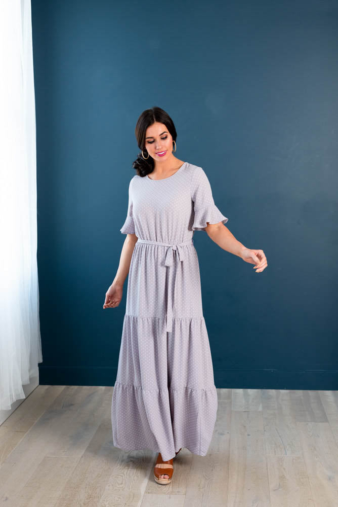 Lilac Passion Tiered Maxi Dress