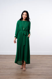 Emerald Green Maxi Dress