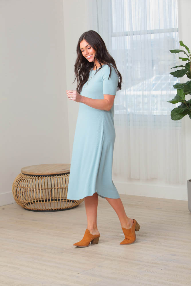 Comfy and Cute Knit Dress