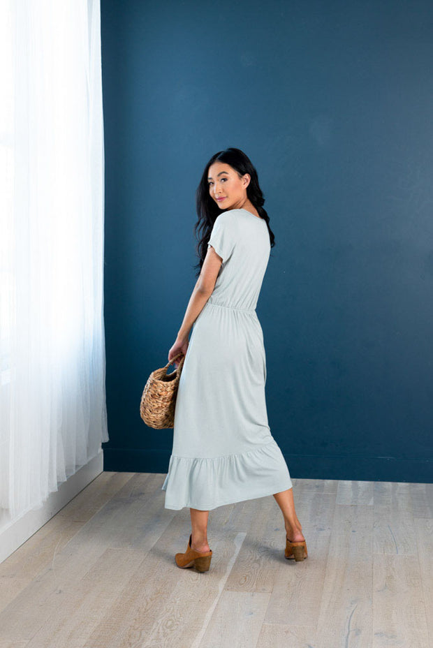 Soft Like a Cloud Midi Dress