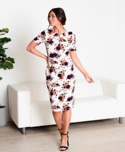 Darling Floral Pencil Dress