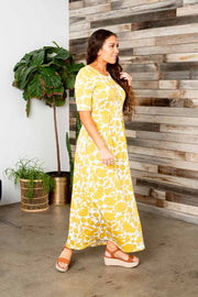 Joyful Days Maxi Floral Dress