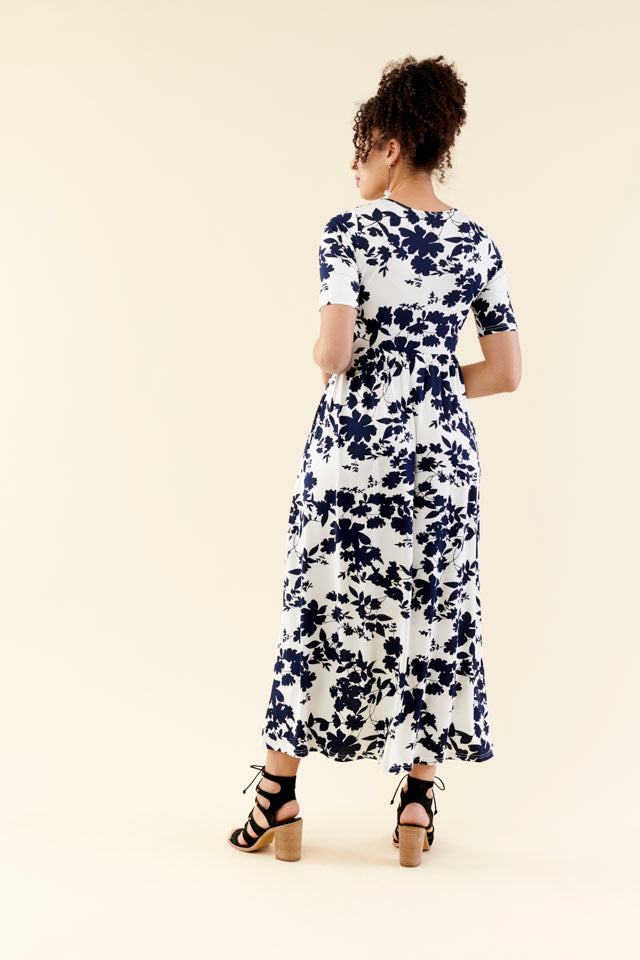 Friday Sunset Maxi Floral Dress
