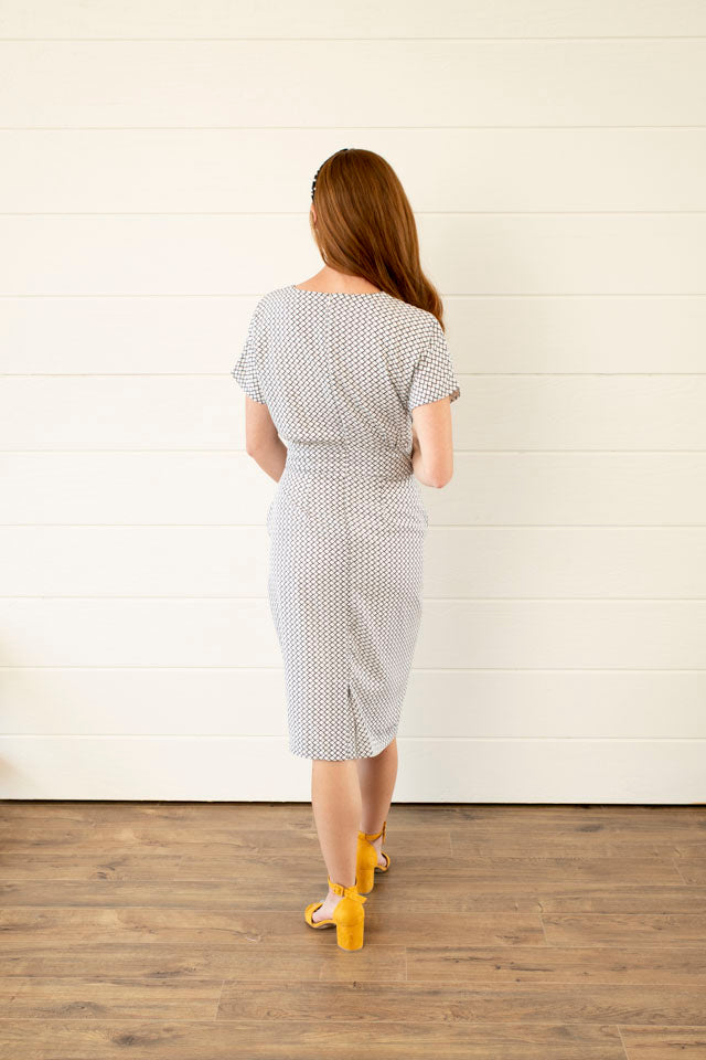 Love the Way Diamond Pencil Dress