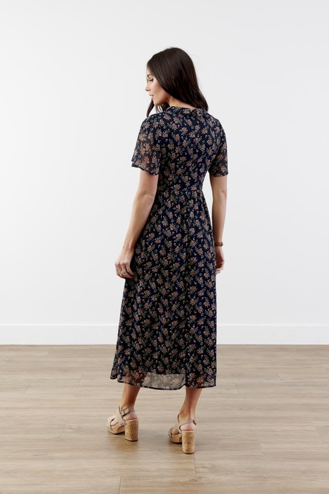 Vanessa Floral Midi Dress