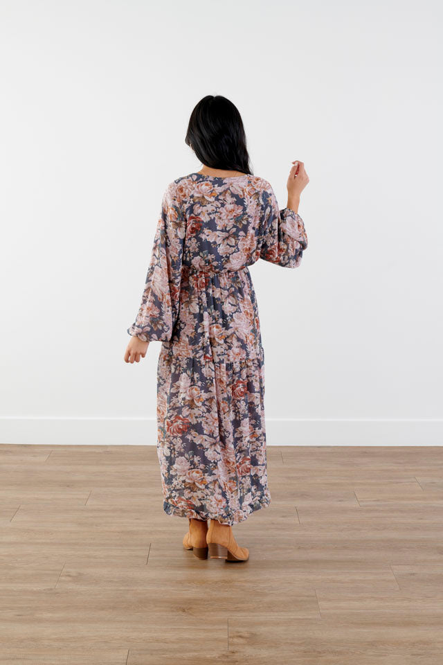 Thriving Romance Floral Dress