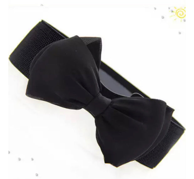 Trendy Bow Decorated Belt