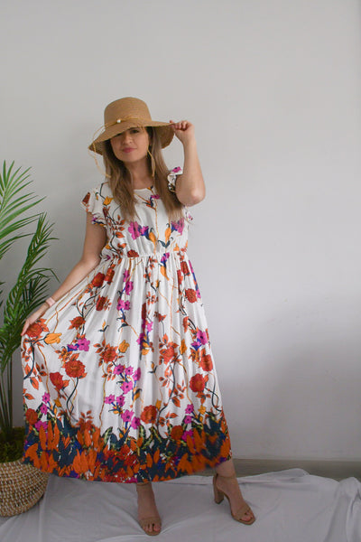 Field Day Floral Maxi Dress