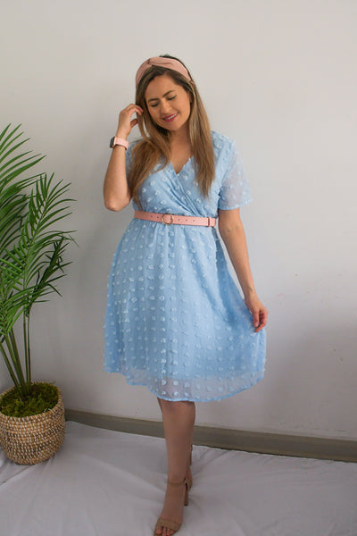 Dreaming Swiss Dot Midi Dress
