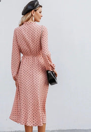 Senorita Polka Dots Midi Dress