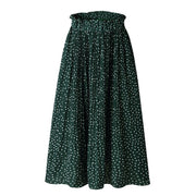 Dottie Pleated Midi Skirt