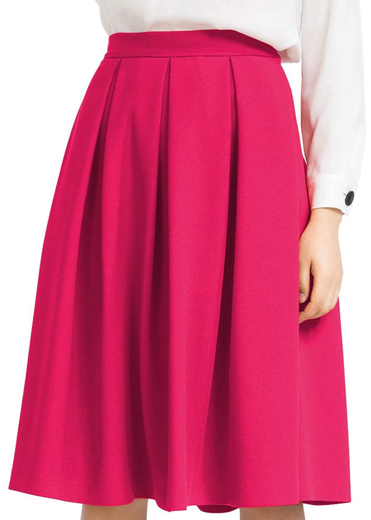 Soft and Delicate Midi Skirt