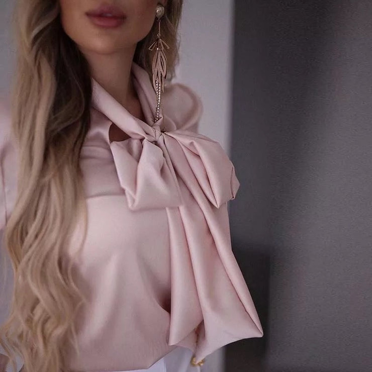 Close to My Heart Bow tie Blouse