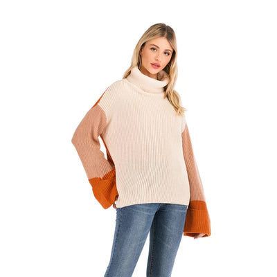 Keep it Warm Colorblock Knit Sweater