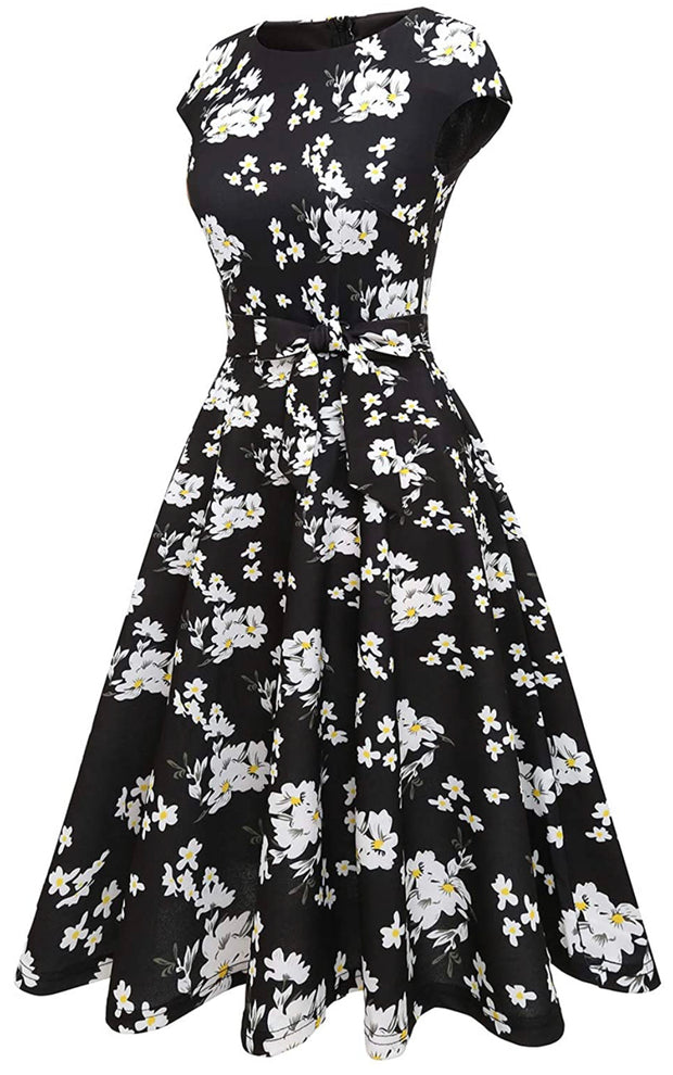 Floral Timeless and Classy Midi Dress