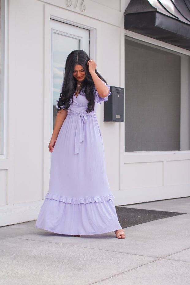 Sweet Babe Blue Maxi Dress