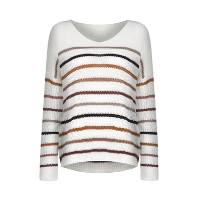 Cozy Mood Striped Sweater