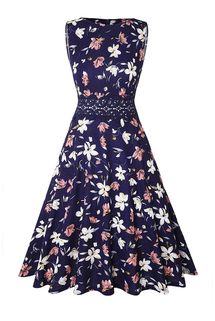 The Adale Floral Midi Dress