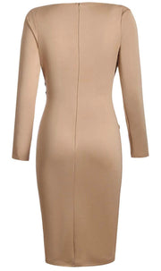 My Name Is Elegance Pencil Dress