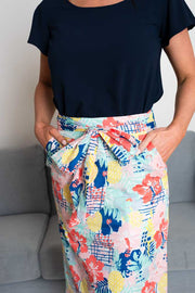 Colorfull Abstract Pencil Skirt