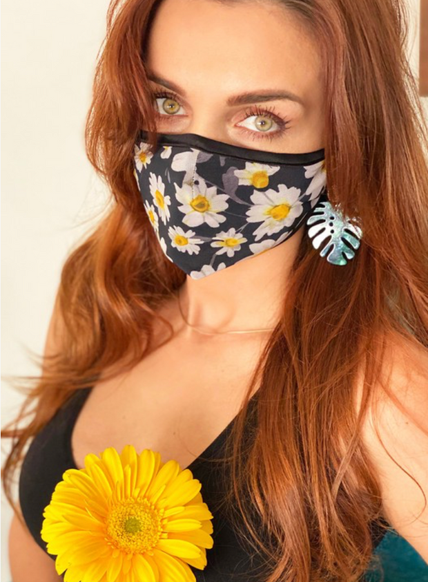 PREMIUM Daisy Cotton Protective Face Mask