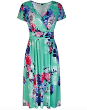 Summer Days Floral Midi Dress