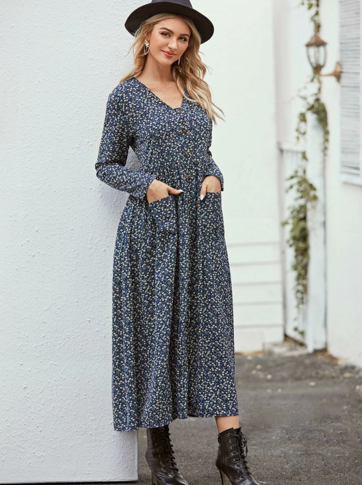 Garden's Delight Ditsy Dress