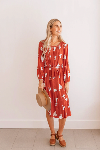 Happy Times Embroidered Dress