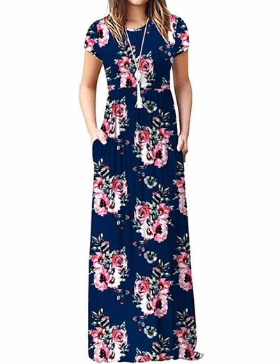 Garden Views Maxi Floral Dress