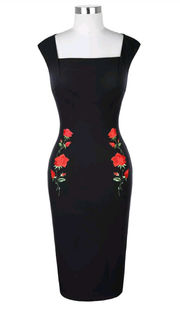Rose For Allure Pencil Dress