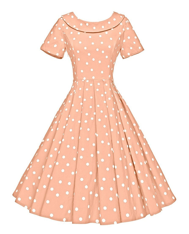 Marilyn polka dots dress