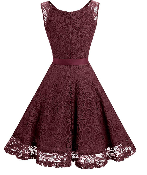 The Annie Lace Midi Dress