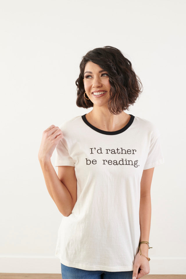 Book Worm Graphic Tee