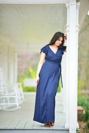 Picture Perfect Navy Maxi Dress