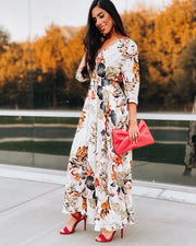 Lost in The garden Floral Long Dress