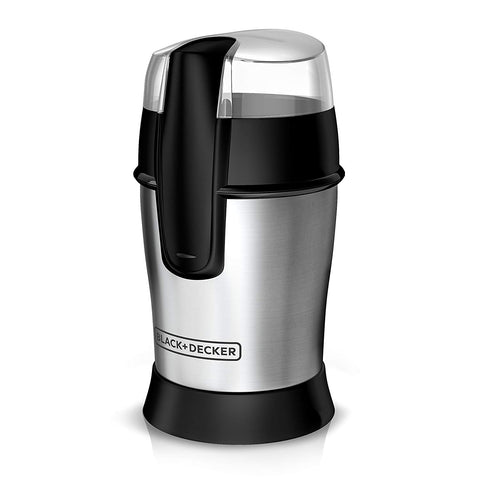 Black & Decker Smartgrind Coffee Grinder, Stainless Steel