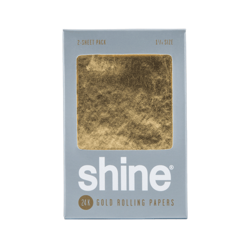 SHINE 24K Gold Papers - 2 Sheets - 1 1/4 Size
