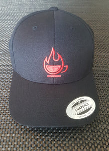 Flaming Cup Hat (Snapback)