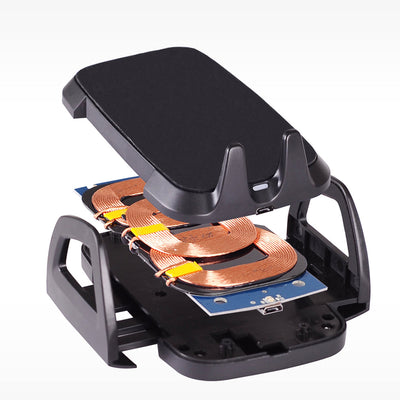 CD Slot Mount Wireless Car Charger